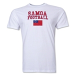 Samoa Football T-Shirt (White)