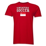 Singapore Soccer T-Shirt (Red)