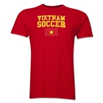 Vietnam Soccer T-Shirt (Red)