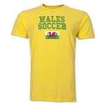 Wales Soccer T-Shirt (Yellow)