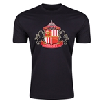 Sunderland Core Men's Fashion T-Shirt (Black)