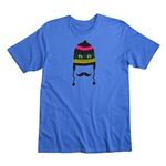 Tobogan Graphic Men's Fashion T-Shirt (Royal)