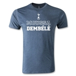Tottenham Moussa Dembele Distressed T-Shirt (Blue)