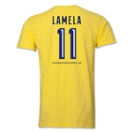 Tottenham Lamela Men's Fashion T-Shirt (Yellow)