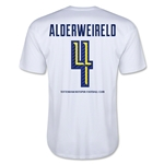 Tottenham Alderweireld Men's Fashion T-Shirt (White)