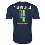 Tottenham Alderweireld Men's Fashion T-Shirt (Navy)