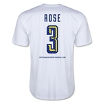Tottenham Rose Men's Fashion T-Shirt (White)