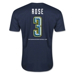 Tottenham Rose Men's Fashion T-Shirt (Navy)