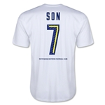 Tottenham Son Men's Fashion T-Shirt (White)