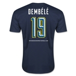 Tottenham Dembele Men's Fashion T-Shirt (Navy)