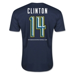 Tottenham Clinton Men's Fashion T-Shirt (Navy)
