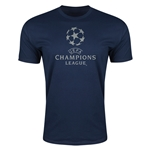 UEFA Champions League Men's Fashion T-Shirt (Navy)