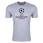 UEFA Champions League Men's Fashion T-Shirt (Gray)