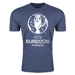 Euro 2016 Men's Fashion T-Shirt (Blue)