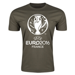 Euro 2016 Men's Fashion T-Shirt (Dark Green)