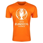 Euro 2016 Men's Fashion T-Shirt (Orange)