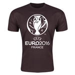 Euro 2016 Men's Fashion T-Shirt (Brown)