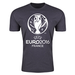 Euro 2016 Men's Fashion T-Shirt (Dark Gray)