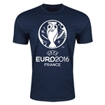 Euro 2016 Men's Fashion T-Shirt (Navy)