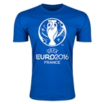 Euro 2016 Men's Fashion T-Shirt (Royal)