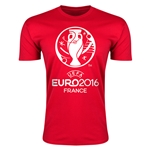 Euro 2016 Men's Fashion T-Shirt (Red)