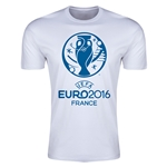 Euro 2016 Men's Fashion T-Shirt (White)