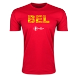 Belgium Euro 2016 Men's Elements T-Shirt (Red)
