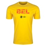 Belgium Euro 2016 Men's Elements T-Shirt (Yellow)