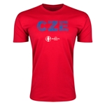 Czech Republic Euro 2016 Men's Elements T-Shirt (Red)