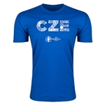 Czech Republic Euro 2016 Men's Elements T-Shirt (Royal)