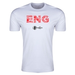 England Euro 2016 Men's Elements T-Shirt (White)