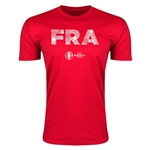 France Euro 2016 Men's Elements T-Shirt (Red)