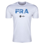France Euro 2016 Men's Elements T-Shirt (White)