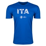 Italy Euro 2016 Men's Elements T-Shirt (Royal)