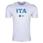 Italy Euro 2016 Men's Elements T-Shirt (White)