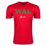 Wales Euro 2016 Men's Elements T-Shirt (Red)