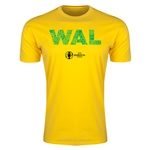 Wales Euro 2016 Men's Elements T-Shirt (Yellow)
