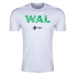 Wales Euro 2016 Men's Elements T-Shirt (White)