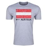 Austria Euro 2016 Men's Fashion T-Shirt (Grey)
