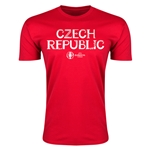 Czech Republic Euro 2016 Men's Fashion T-Shirt (Red)