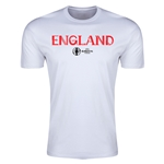England Euro 2016 Men's Fashion T-Shirt (White)