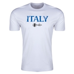 Italy Euro 2016 Men's Fashion T-Shirt (White)
