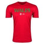 Wales Euro 2016 Men's Fashion T-Shirt (Red)