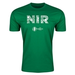 Northern Ireland Euro 2016 Men's Elements T-Shirt (Green)
