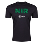Northern Ireland Euro 2016 Men's Elements T-Shirt (Black)