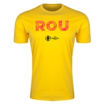 Romania Euro 2016 Men's Elements T-Shirt (Yellow)