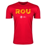 Romania Euro 2016 Men's Elements T-Shirt (Red)