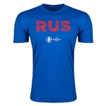 Russia Euro 2016 Men's Elements T-Shirt (Royal)