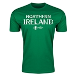 Northern Ireland Euro 2016 Men's Fashion T-Shirt (Green)