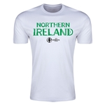 Northern Ireland Euro 2016 Men's Fashion T-Shirt (White)